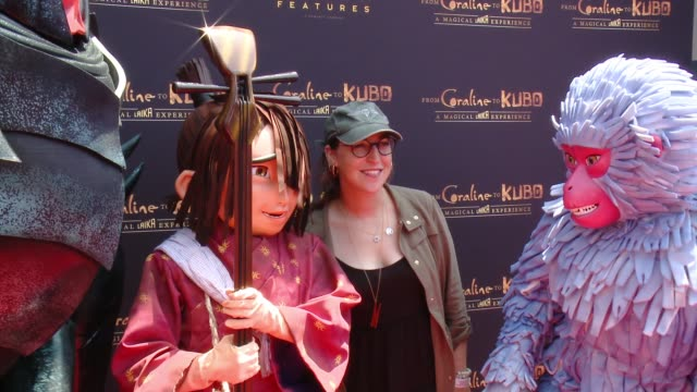 a magical laika experience in los angeles ca - mayim bialik stock videos & royalty-free footage