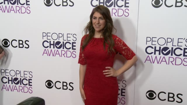 mayim bialik at the people's choice awards 2017 at microsoft theater on january 18 2017 in los angeles california - mayim bialik stock videos & royalty-free footage