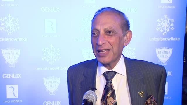 mayor jimmy delshad on being here for unicef, on why beverly hills and unicef have partnered. at the unicef supporter monique coleman to light the... - monique coleman stock videos & royalty-free footage