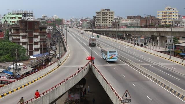 Mayor Mohammad Hanif Flyover in Dhaka Bangladesh