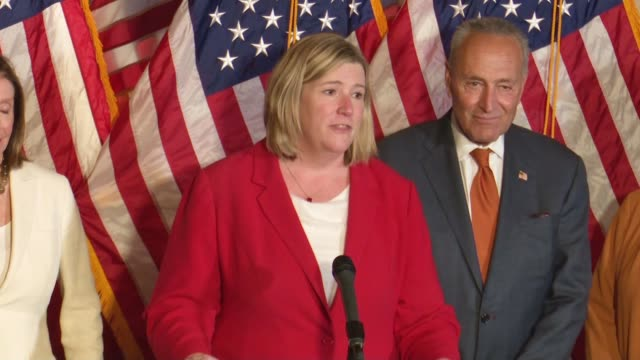 mayor nan whaley of dayton ohio says at a press conference with democrats in congress after a mass shooting in her city a month earlier that she got... - virginia beach stock videos & royalty-free footage