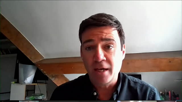 """mayor of greater manchester andy burnham saying the government need to make it clear to people in bolton that recent coronavirus advice is """"guidance... - direction stock videos & royalty-free footage"""