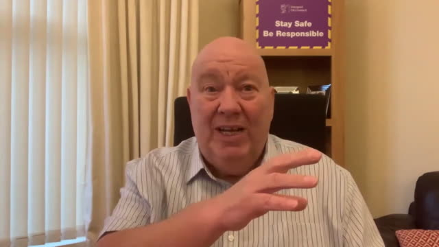 mayor of liverpool joe anderson talking about the confusion over the government's coronavirus tier system - form of communication stock videos & royalty-free footage
