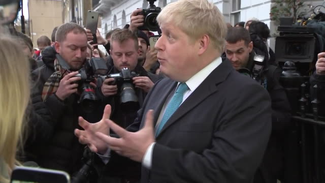 Mayor of London Boris Johnson saying he wanted to remain in a reformed EU but he 'doesn't feel that's what was offered'