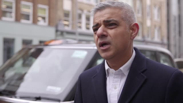 mayor of london sadiq khan launches new network of rapid electric car charge points these can charge a full battery in just thirty minutes mr khan... - sadiq khan stock videos & royalty-free footage