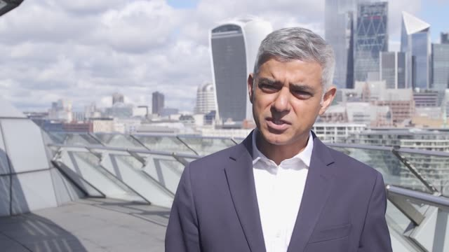 mayor of london sadiq khan says the government is playing survival of the fittest with londoners' livelihoods having written a letter to the... - furlough stock videos & royalty-free footage