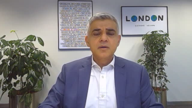 mayor of london sadiq khan talking about the risk involved with the coronavirus christmas bubble - social gathering stock videos & royalty-free footage
