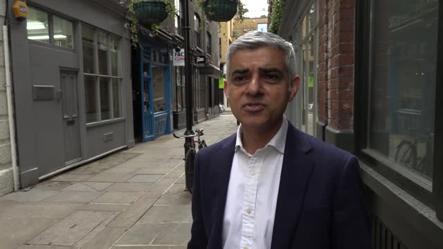 mayor of london sadiq khans visits a restaurant in chinatown as businesses in the capital prepare to welcome visitors inside their premises as... - masterchef stock videos & royalty-free footage