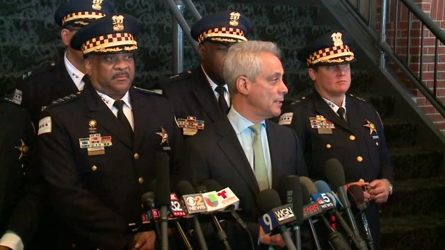 WGN Mayor Rahm Emanuel and police Superintendent Eddie Johnson talked about Cook County prosecutors' decision to drop charges against Jussie Smollett...