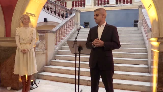 Mayor Sadiq Khan watches beatboxing and choir performances as he launches his culture strategy for London finding time to fit in a jibe at his...