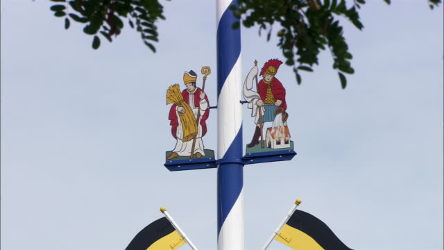 td maypole, bavaria, germany - cinematography stock videos & royalty-free footage