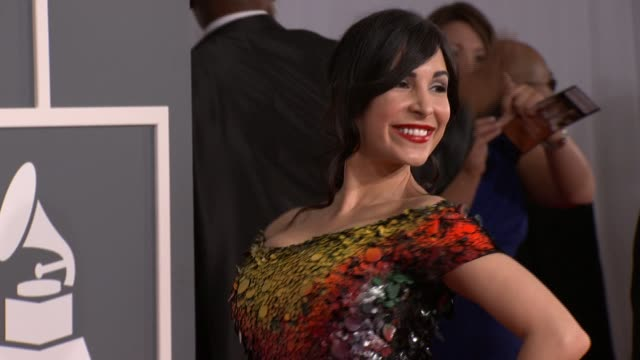 Mayra Veronica at 54th Annual GRAMMY Awards Arrivals on 2/12/12 in Los Angeles CA