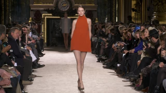 mccartney: paris fashion week a/w 2010 - 2010 stock videos & royalty-free footage