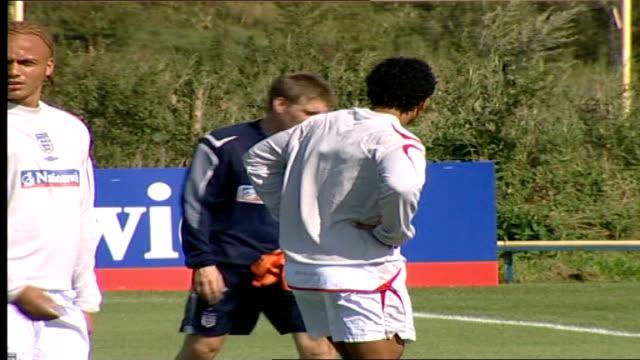 McClaren's new England football squad training SCROLL