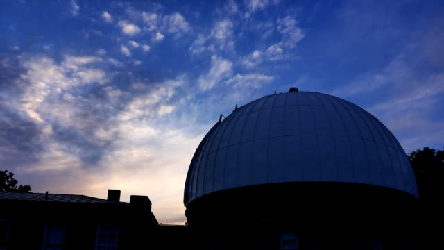 mccormick observatory time lapse - astronomy stock videos & royalty-free footage