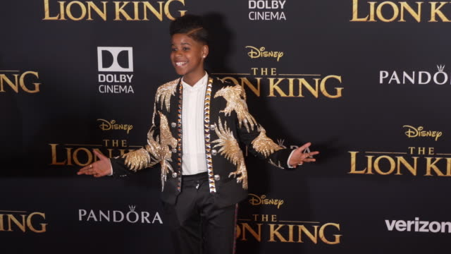 "vídeos de stock e filmes b-roll de mccrary at the world premiere of disney's ""the lion king"" at dolby theatre on july 09, 2019 in hollywood, california. - the dolby theatre"