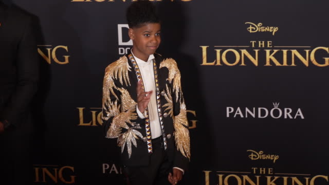 McCrary at the World Premiere of Disney's The Lion King at Dolby Theatre on July 09 2019 in Hollywood California