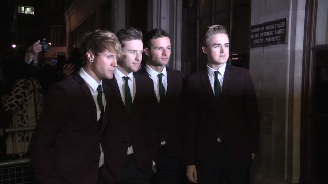 mcfly at bbc radio one on november 18, 2012 in london, england - bbc radio stock videos & royalty-free footage