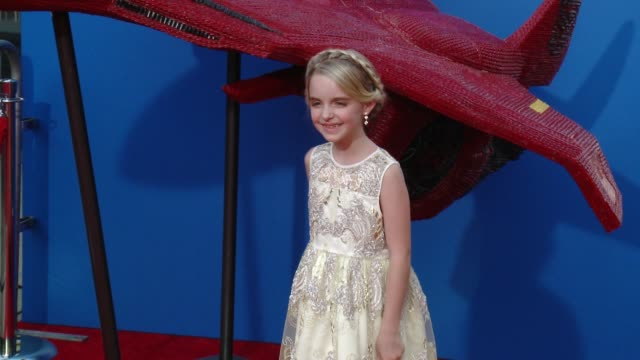 """Mckenna Grace at Twizzlers is ready for battle at Fox's """"Independence Day Resurgence"""" Screening with Vivica A Fox at TCL Chinese Theatre in Los..."""