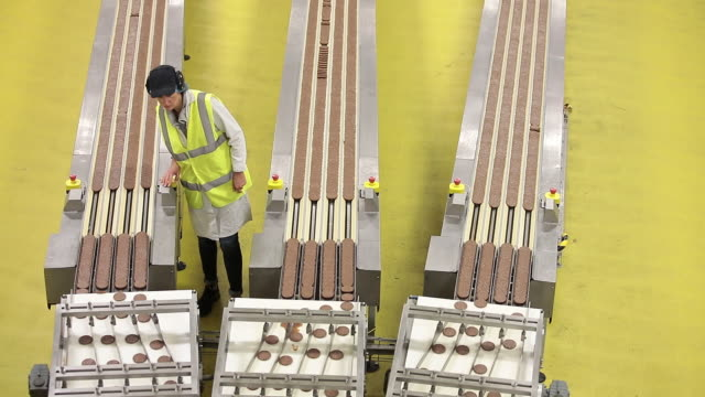 mcvities biscuit factory in harlesden london united kingdom on monday september 24 2018 - biscuit stock videos & royalty-free footage