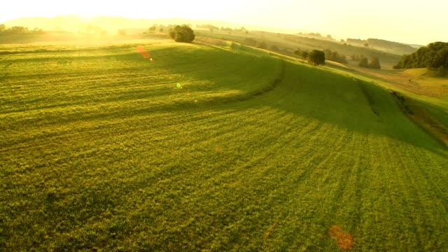 空から見たメドウズ後半午後の太陽
