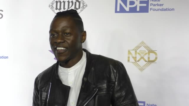stockvideo's en b-roll-footage met meaku at 9th annual manifest your destiny toy drive and fundraiser on december 05, 2016 in hollywood, california. - manifest destiny