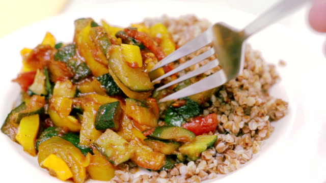 meal - buckwheat stock videos & royalty-free footage