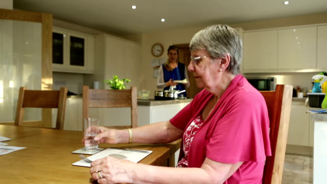 meals on wheels! - sheltered housing stock videos & royalty-free footage