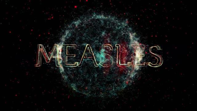 measles virus animation - disease vector stock videos & royalty-free footage