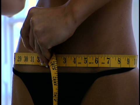 measuring hips - waist stock videos & royalty-free footage