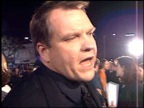 meat loaf at the 'fight club' premiere at the mann village theatre in westwood, california on october 6, 1999. - regency village theater stock videos & royalty-free footage