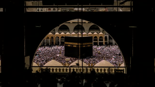mecca :saudi arabia - al haram mosque stock videos and b-roll footage