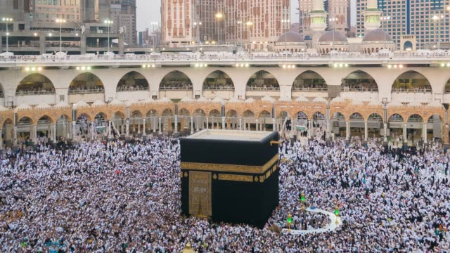 mecca, saudi arabia - jiddah video stock e b–roll
