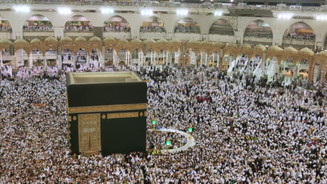 mecca saudi arabia - mecca stock videos and b-roll footage