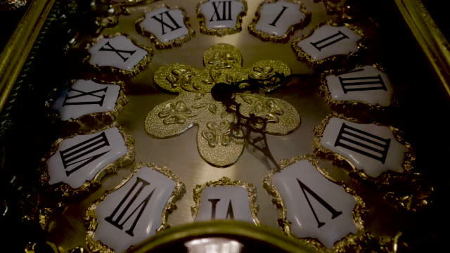 mechanical watch - 12 o'clock stock videos and b-roll footage