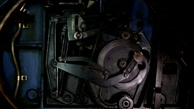 mechanism (hd) - machinery stock videos and b-roll footage
