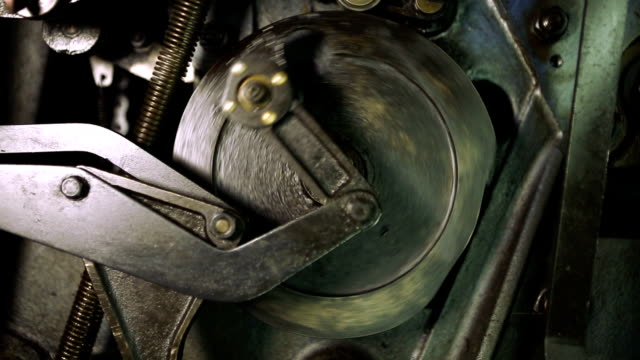 mechanism (hd) - machine part stock videos & royalty-free footage