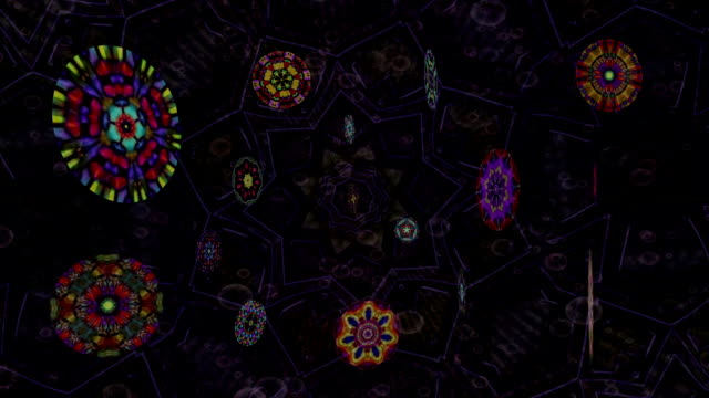 medallions - mandala stock videos & royalty-free footage