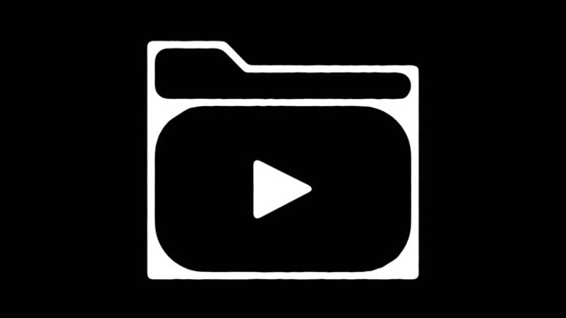 media archive blackboard line animation with alpha - control stock videos & royalty-free footage