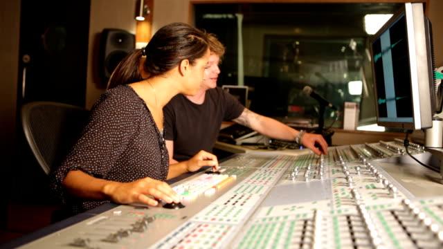 media: audio duo at desk