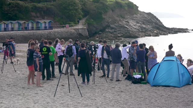 media film oxfam campaigners pose as g7 leaders as the charity calls on the g7 to commit to cutting emissions further and faster on june 12, 2021 in... - brightly lit stock videos & royalty-free footage