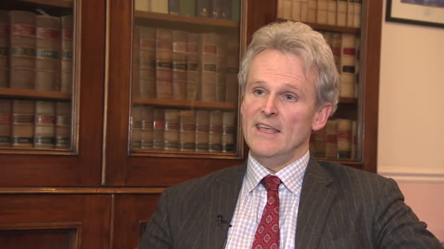 """media lawyer campbell dean saying the naming of aaron campbell as the murderer of alesha macphail despite being under-18 """"will not open the... - victim stock videos & royalty-free footage"""