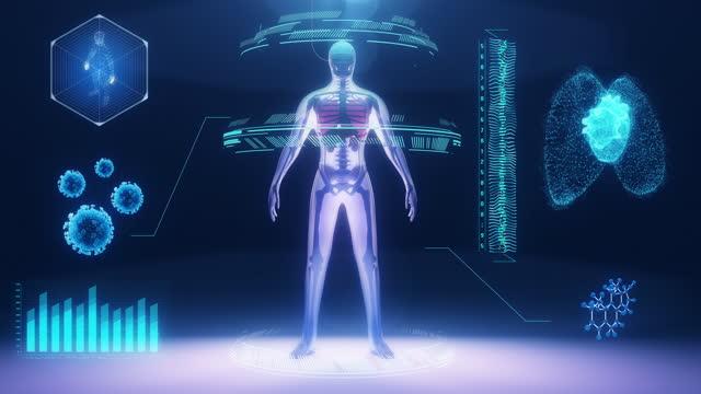 vídeos y material grabado en eventos de stock de diagnóstico médico - animación biomédica