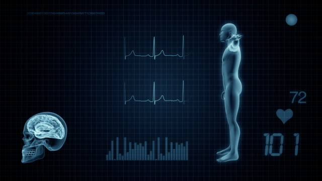 medical display monitor - graphical user interface stock videos & royalty-free footage
