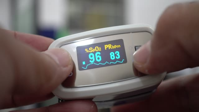 medical equipment - pulse oxymeter stock videos and b-roll footage