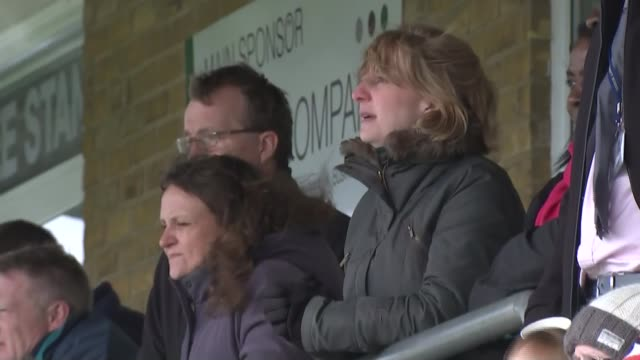 Medical experts want to stop tackling in school rugby Various shots spectators including parents in spectator area Vox Pop