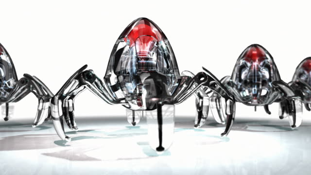 medical nanobots marching in a rank - nanotechnology stock videos & royalty-free footage