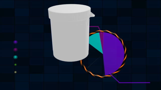 vídeos de stock e filmes b-roll de pílulas e diagrama médico - vitamina a