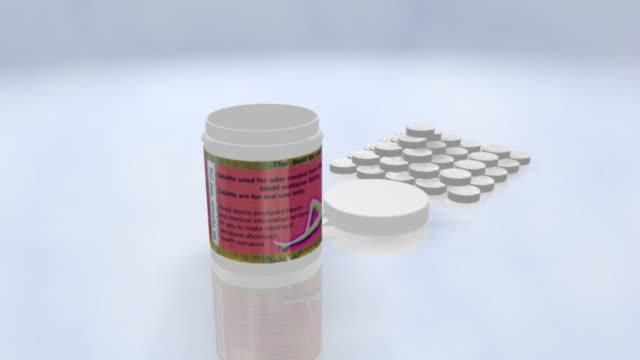 vídeos de stock e filmes b-roll de medical comprimido para mulheres, três temas - vitamina a