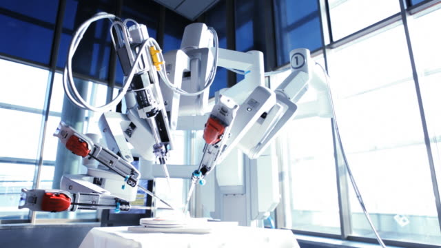 medical robot - medical equipment stock videos & royalty-free footage